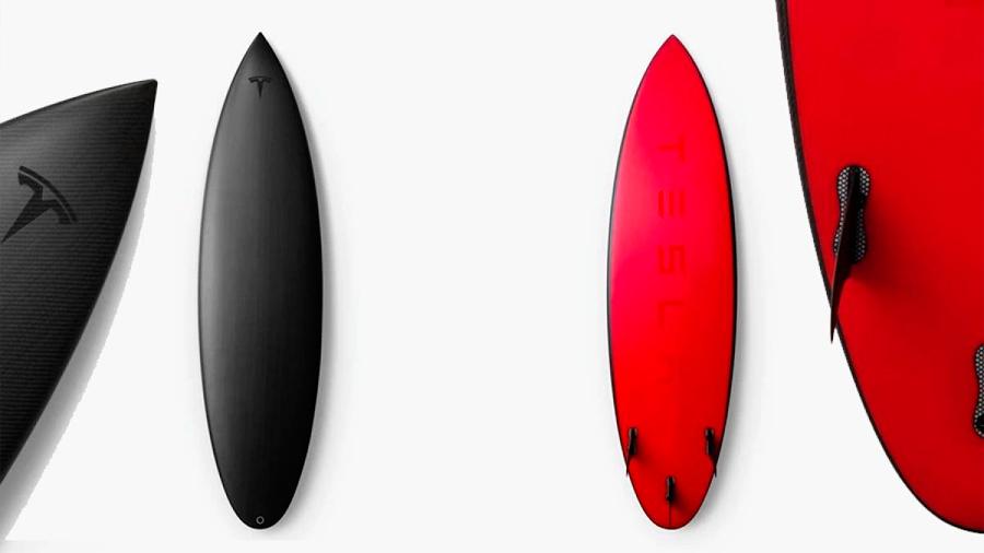 Estas son las tablas de surf que Tesla puso en venta y se agotaron en minutos
