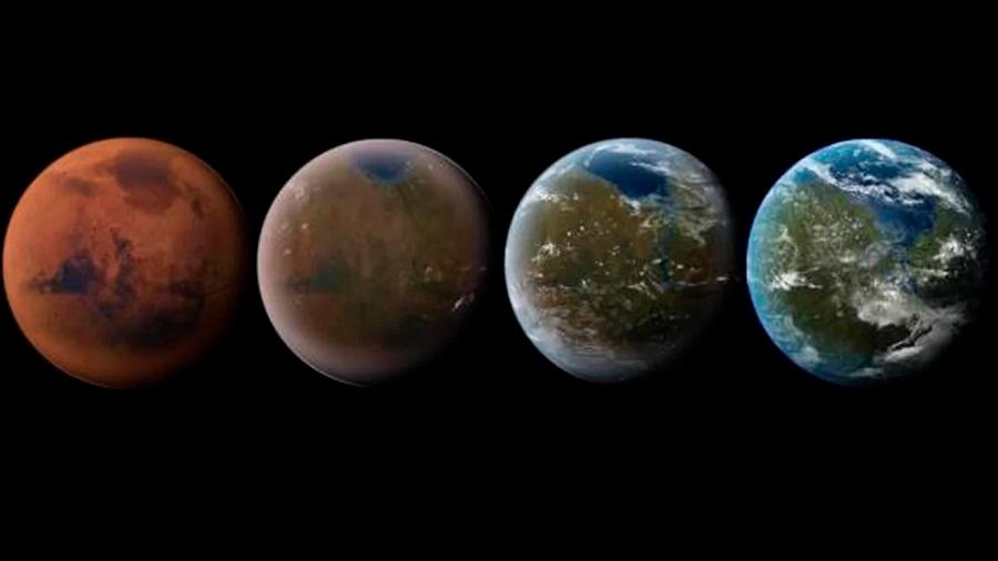 Marte no puede transformarse en la nueva Tierra porque carece del CO2 suficiente