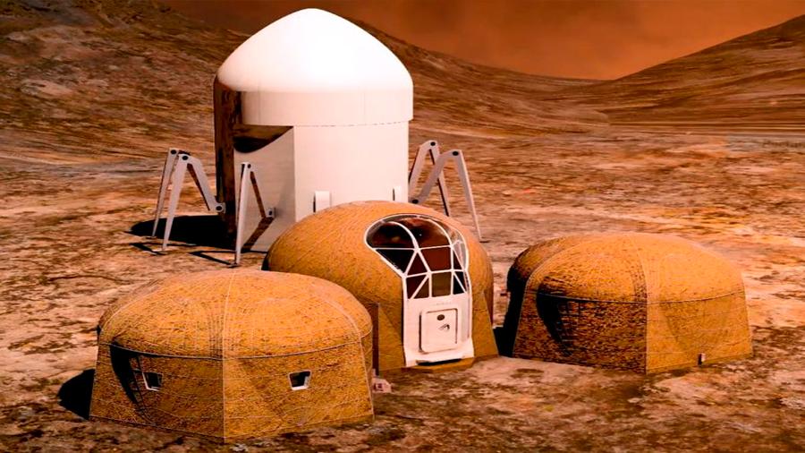 Conoce los cinco prototipos de casa que creo la NASA para habitar Marte