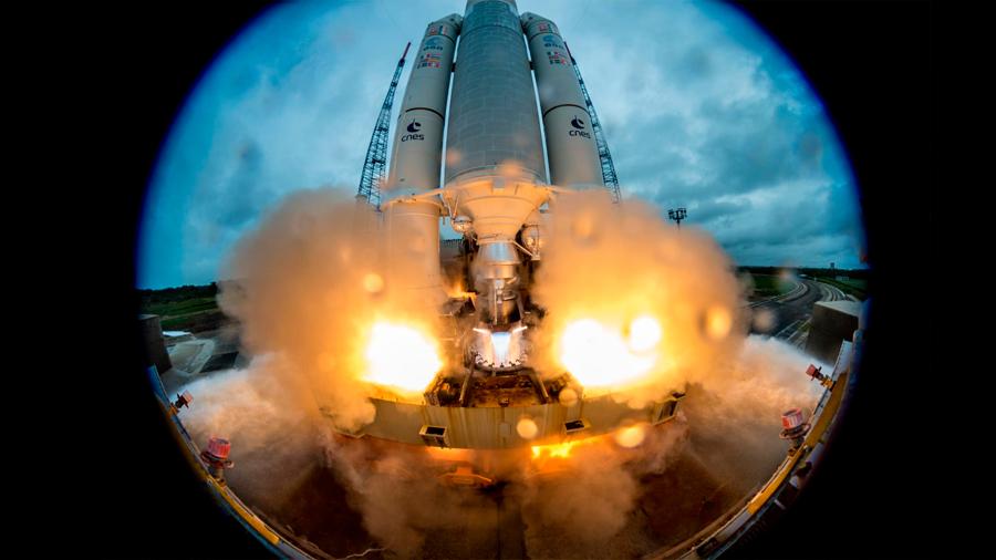 En un lugar remoto de Sudamérica se fabrica el combustible para los nuevos cohetes espaciales