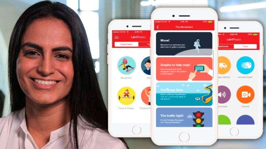 Innovadora chilena transforma los móviles en laboratorios de bolsillo para estimular la formación en ciencia
