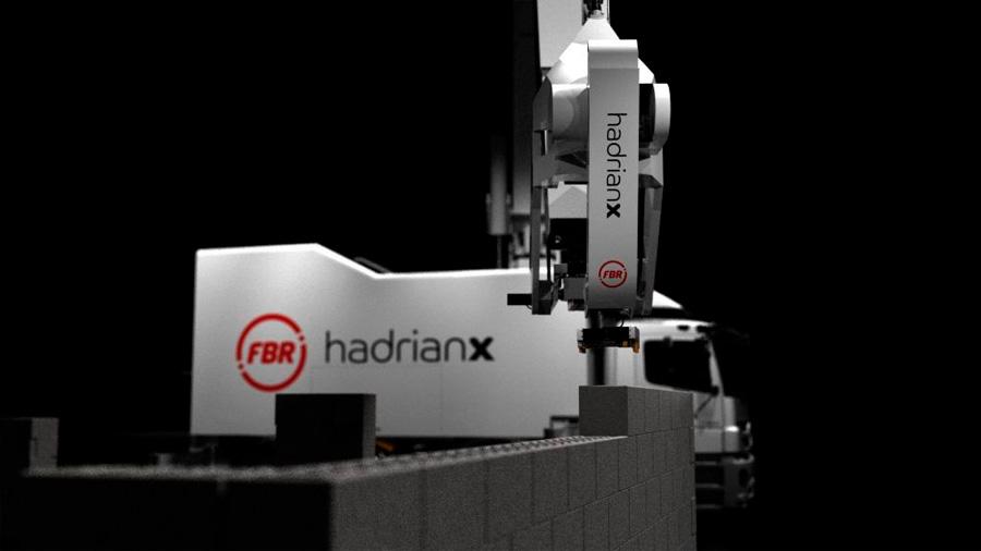 Hadrian X, el robot albañil que puede construir una casa en dos días