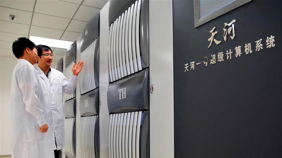 China arrancó el más veloz supercomputador del orbe: mil millones de operaciones por segundo