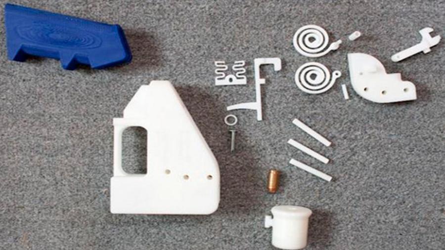 Facebook eliminará contenido de diseños para fabricar armas con impresoras 3D