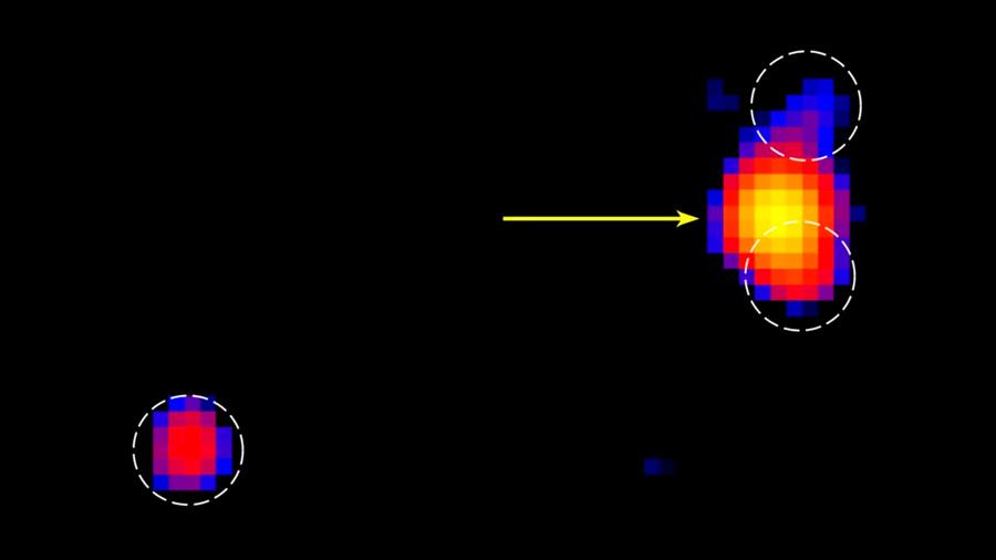 Un grupo de estudiantes detecta una misteriosa fuente de rayos X