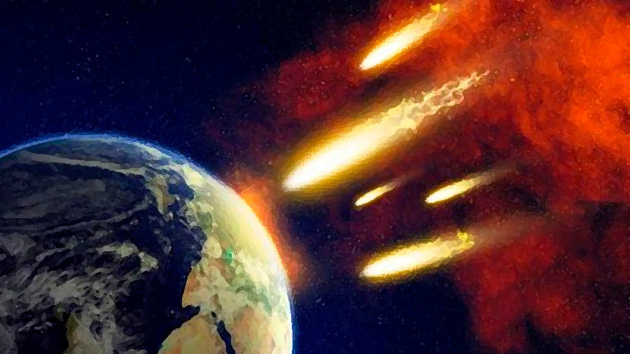 Un bombardeo de meteoritos pudo formar las rocas más antiguas de la Tierra