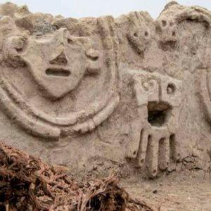 Descubren un muro de casi 4,000 años de la civilización Caral en Perú