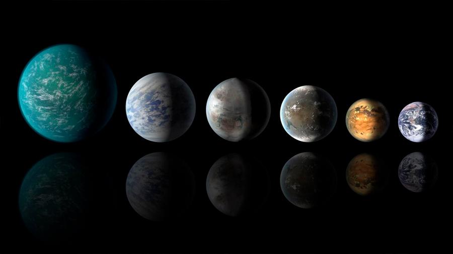 Mundos acuáticos son comunes en el Universo y exoplanetas podrían tener grandes masas de agua