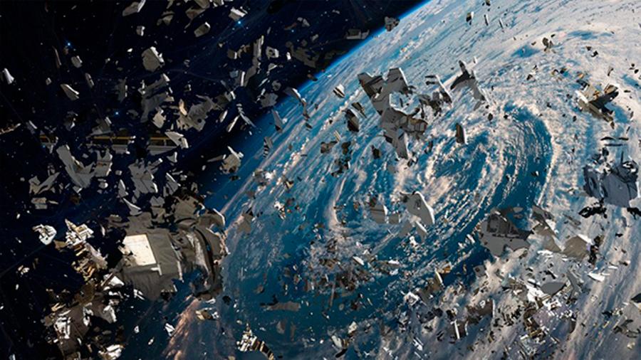 Japón busca controlar la basura espacial por medio de satélites