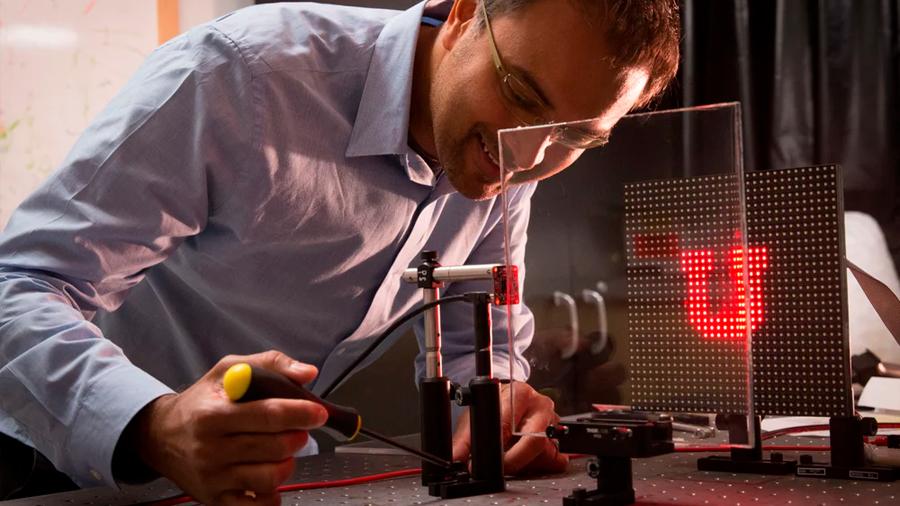 Ingenieros desarrollan una cámara que funciona sin óptica