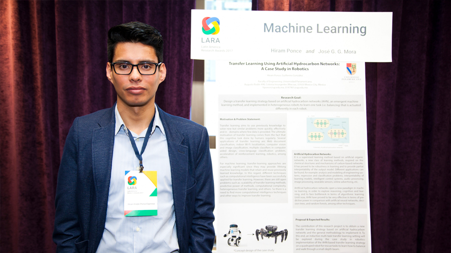 Hiram Ponce, el investigador mexicano de IA que alcanzó el Premio Google