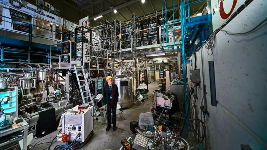El CERN observa por primera vez una transición electrónica del hidrógeno en antimateria
