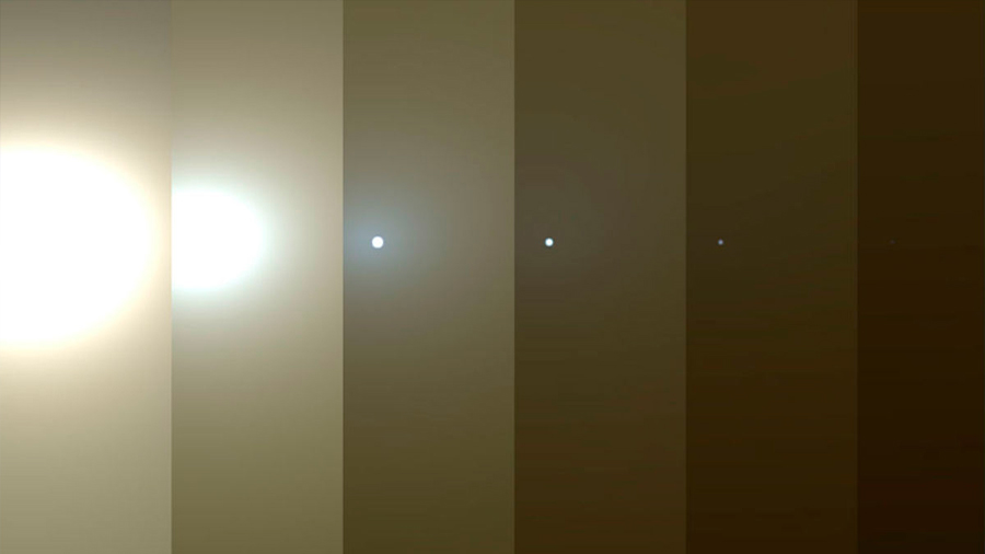 Sin noticias de 'Opportunity' tras la gigantesca tormenta marciana