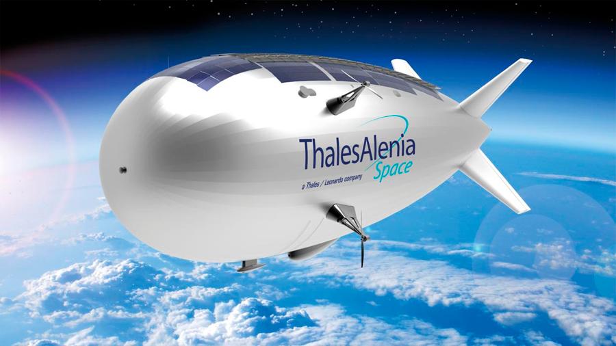 Un zepelín del tamaño de una cancha de fútbol surcará el cielo en 2022