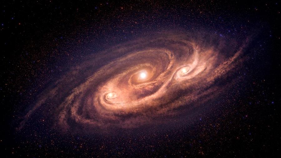 Científicos descubren una galaxia imparable y 'monstruosa' a 12 400 millones de años luz