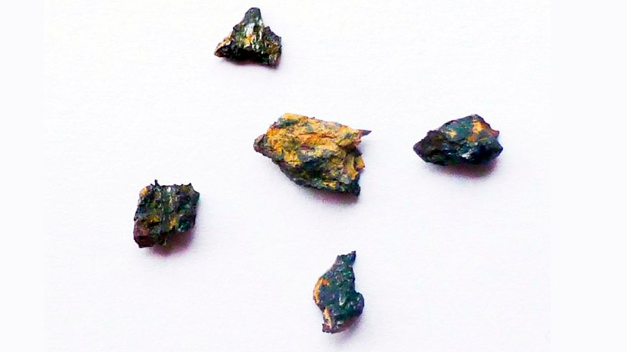 Hallada una roca en Egipto que se formó antes del Sistema Solar