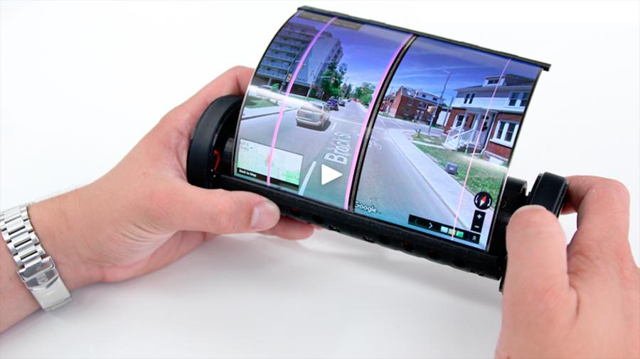 ¿Una tablet que se enrrolla como pergamino? Conoce al nuevo MagicScroll [VIDEO]