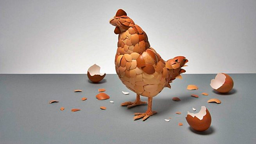 La física cuántica responde a si fue antes el huevo o la gallina