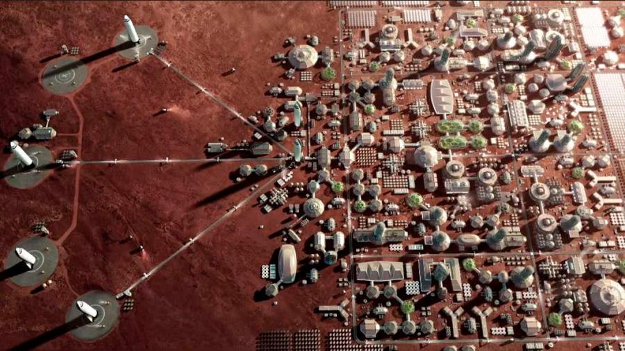 """Así pretende Elon Musk construir """"múltiples ciudades"""" en Marte [VIDEO]"""