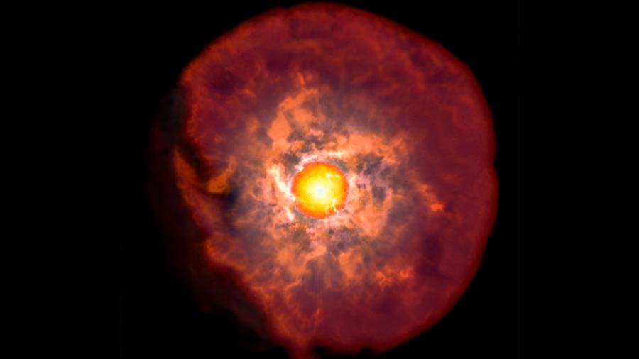 Investigadores chilenos descubren momento crítico previo a la muerte de las estrellas