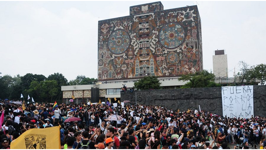 Condena enérgica del Senado a actos violentos en la UNAM