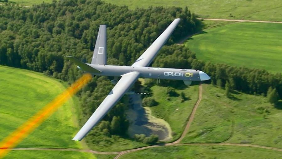 El ejército de EU desarrolla un dron que se carga con láser a la distancia