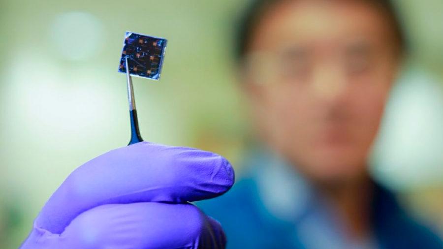Récord de eficiencia para una nueva célula solar ultrafina