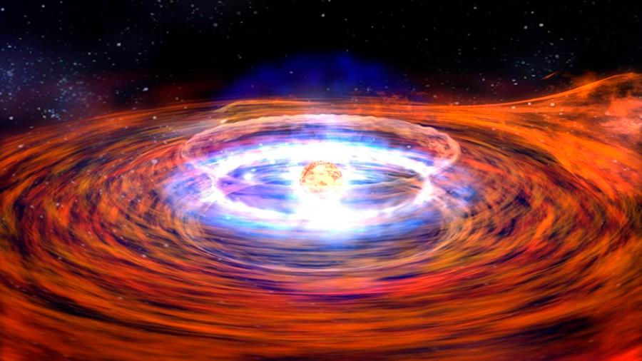 """Descubren que el brillo de los agujeros negros varía más si """"comen"""" menos materia"""