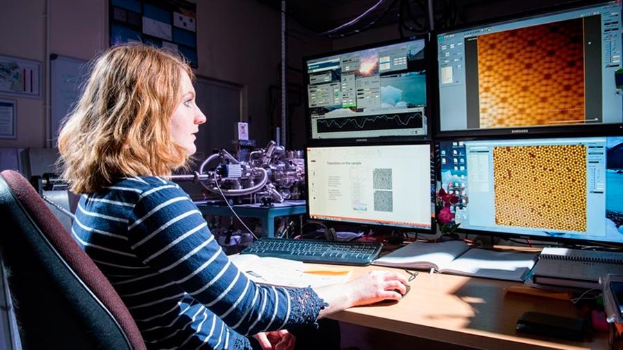 Nanociencia extrema permite controlar fugazmente moléculas individuales