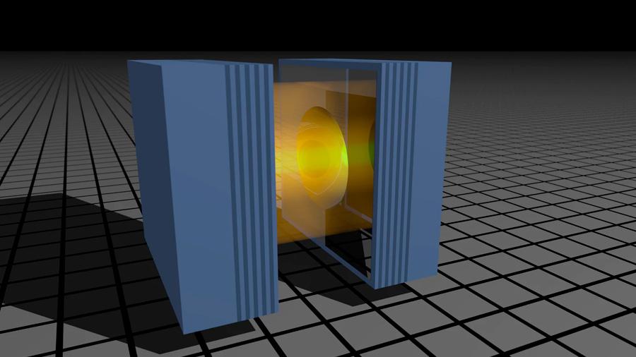 Tan solo siete fotones se comportan como miles de millones