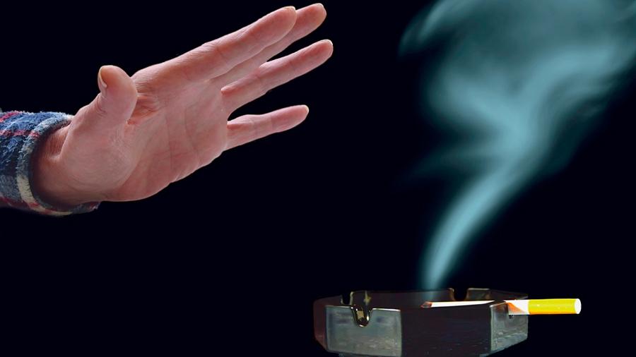 La adicción a la nicotina se puede apagar mediante luz