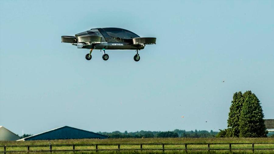 Probado con éxito el primer prototipo de taxi aéreo eléctrico de largas distancias