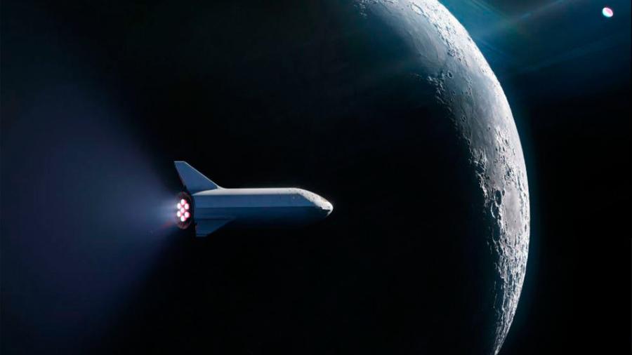 Space X vende el primer pasaje para ir a la Luna