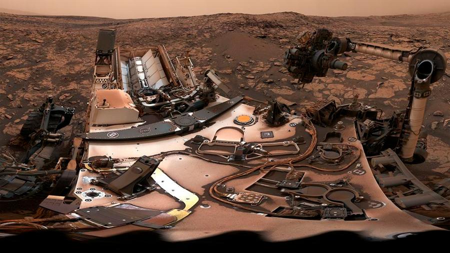 La Nasa publica un vídeo interactivo espectacular del robot Curiosity en Marte