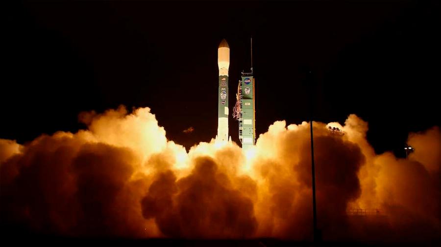 NASA lanza satélite con láseres para estudiar pérdida de hielo en la Tierra
