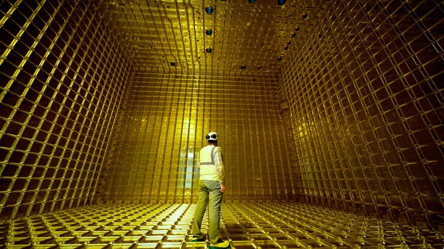 Registran Primeras partículas en el prototipo de un gran detector de neutrinos