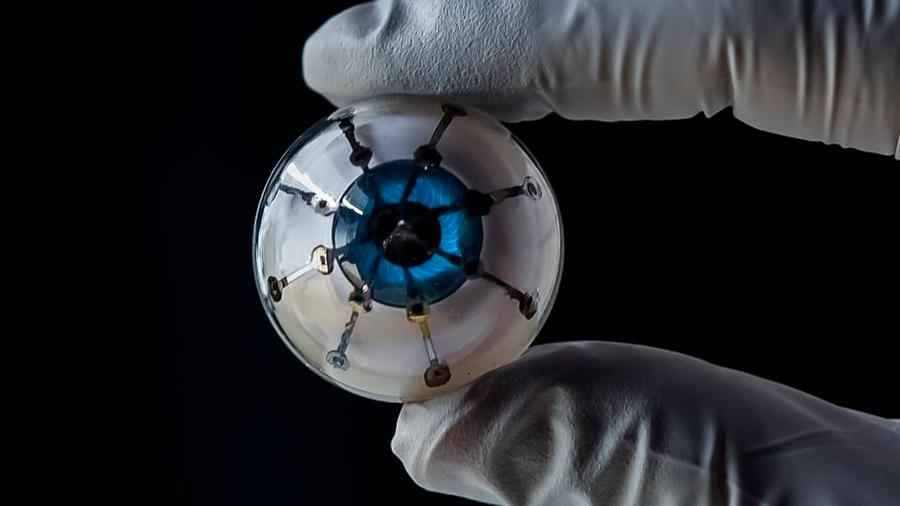Científicos estadounidenses imprimen en 3D un prototipo de ojo biónico