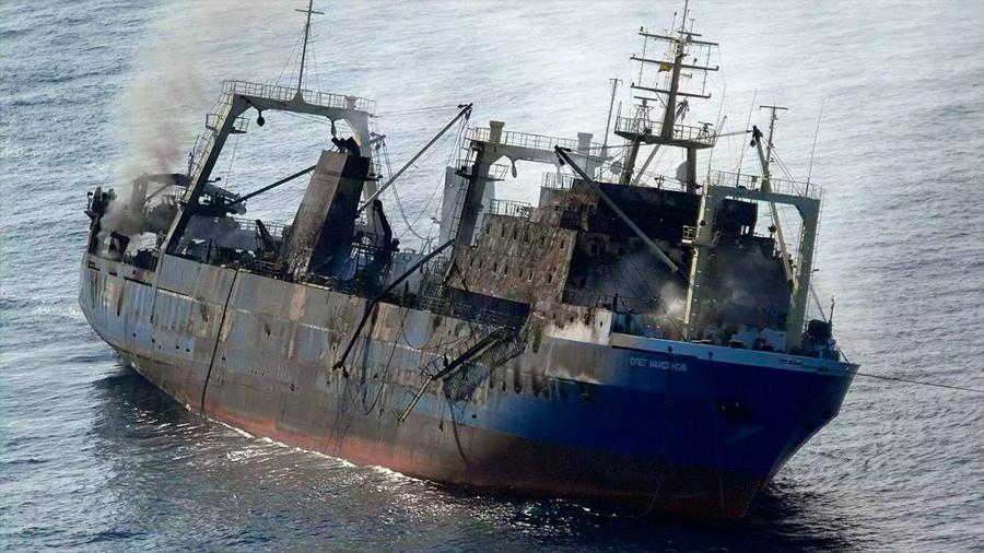 Inusual reacción química que hace que naufraguen unos 10 barcos de carga al año