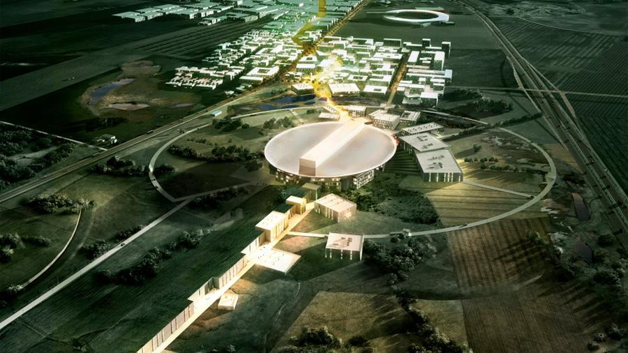 Construyen un enorme 'superacelerador' para analizar la materia más minúscula