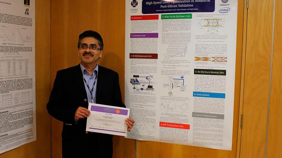 Premio mundial a mexicano por mejor tesis de doctorado en ingeniería electrónica a nivel América Latina
