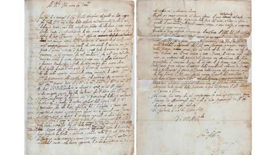 Una carta extraviada replantea el caso de Galileo Galilei