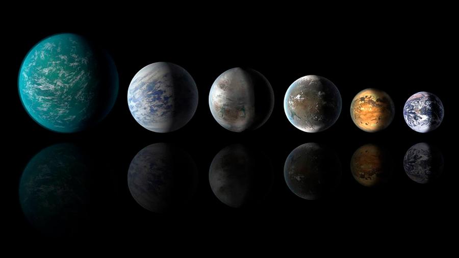 Nueva clasificación de exoplanetas con cuatro categorías según su radio