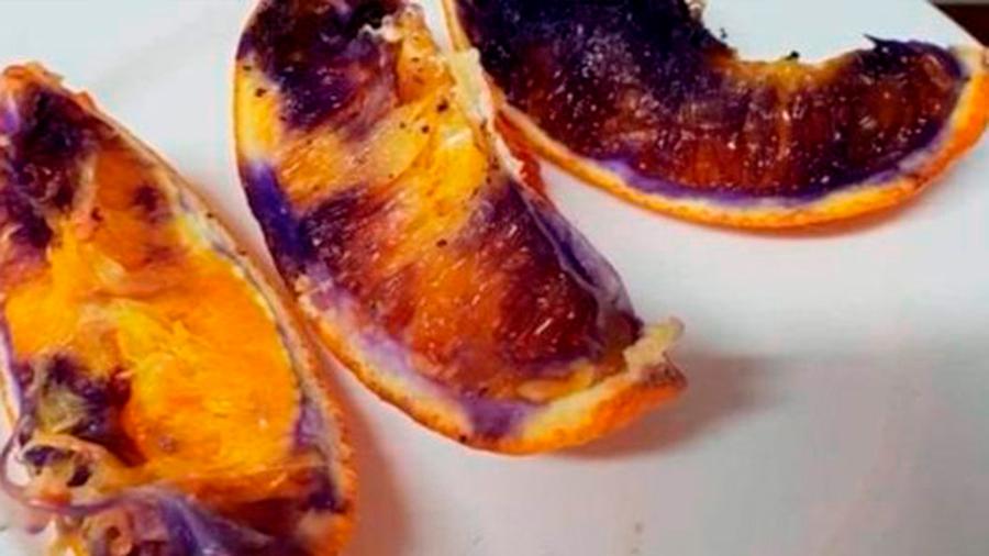 El enigma de la naranja que se volvió morada ya tiene solución