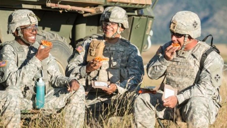 """Pizza diseñada para el ejército de Estados Unidos permanece tres años """"fresca"""""""