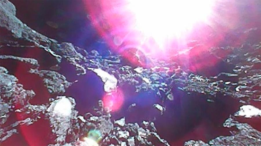 Nuevas espectaculares imágenes, con vídeo, desde el asteroide Ryugu