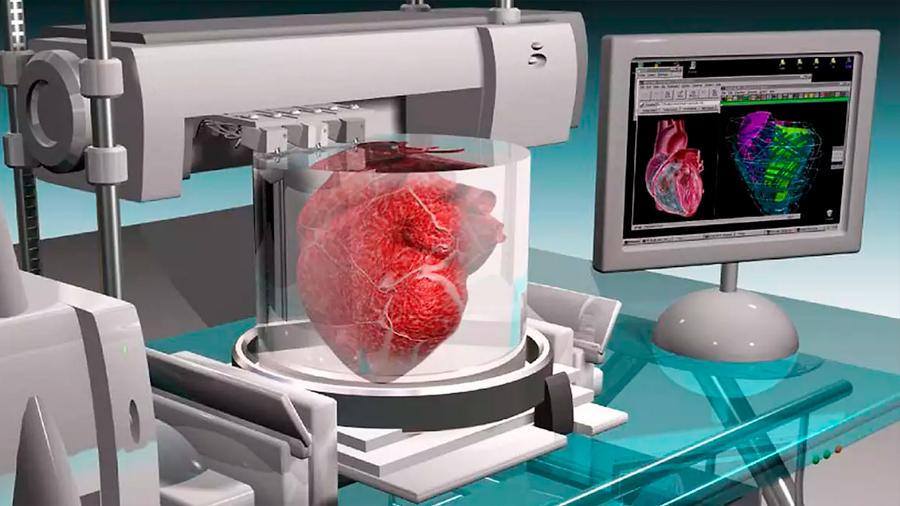 Bioimpresoras 3D imprimen órganos de repuesto