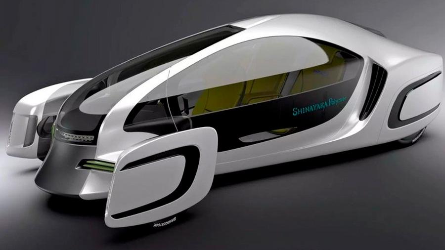 Presentan en Japón el primer automóvil hecho casi en su totalidad de plástico