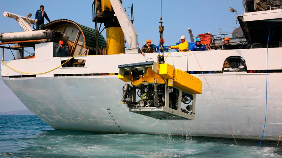 Científicos noruegos envían robots a buscar oro en el lecho marino