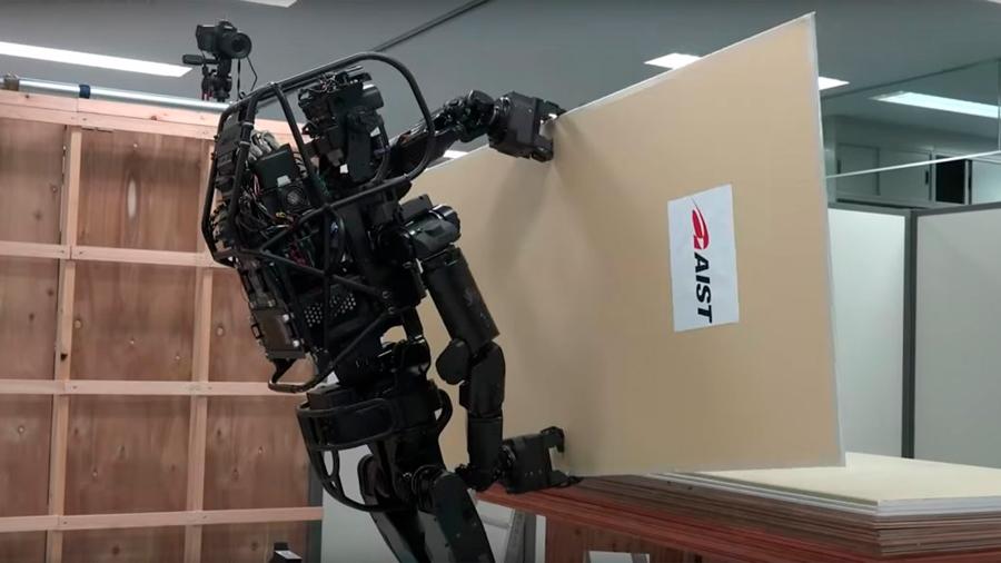 Desarrollan un robot albañil capaz de construir grandes estructuras