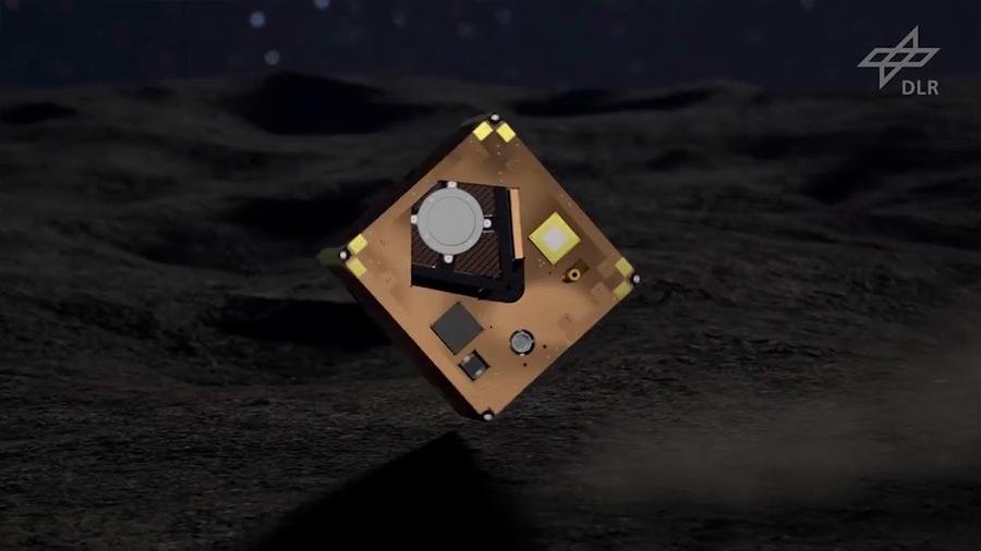 El robot franco-alemán MASCOT llega con éxito al asteroide Ryugu